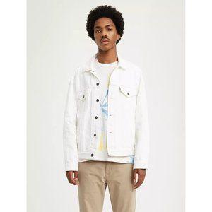 NEW Levi's Trucker Vintage Fit White Jacket